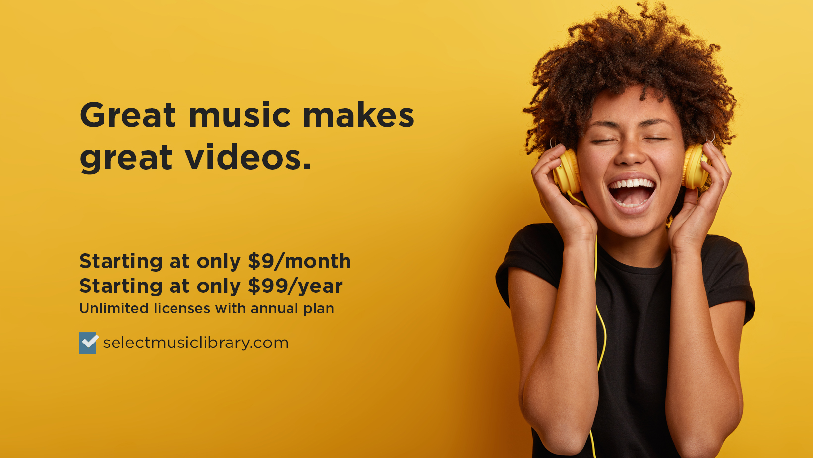 select music library subscription pricing